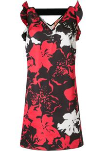 Nº21 Vestido Floral Sem Mangas - Estampado