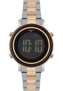 Relógio Technos Trend Bicolor Feminino - Feminino-Rose Gold