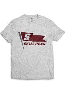 Camiseta Skill Head Mast Flag Masculina - Masculino