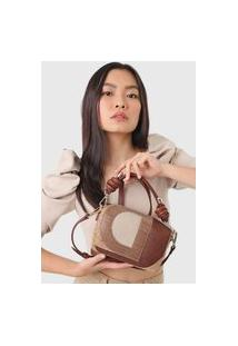 Bolsa Desigual Hand Bag Solaris Caramelo