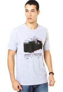 Camiseta West Coast Fábrica Cinza