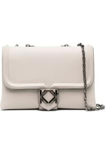 Karl Lagerfeld Miss K Medium Shoulder Bag - Neutro
