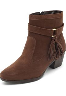 Bota Polo London Club Tassel Marrom