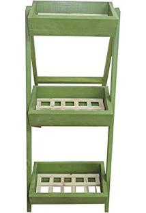 Escada Jardineira Verde
