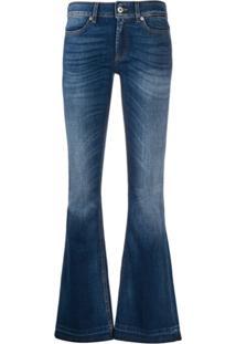 Dondup Calça Jeans Flare Cintura Alta - Azul