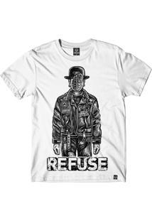 Camiseta Refuse Sons Of Grenade - Branca