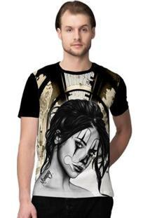 Camiseta Stompy Clown Girl Masculino - Masculino