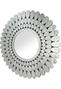 Espelho Ballo- Espelhado & Cinza- 90X100X1,6Cmrivatti