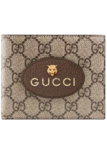 Gucci Carteira 'Neo Vintage Gg Supreme' - Marrom