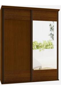 Armario Los Angeles 2 Portas 1,91M C/Espelho Caramelo - 24567 - Sun House