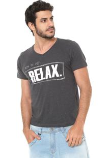 Camiseta Sergio K Relax Grafite