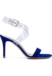 Gianvito Rossi Sandália De Salto - Azul