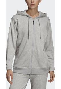 Blusa Adidas Moletom Capuz Essentials Feminina - Feminino