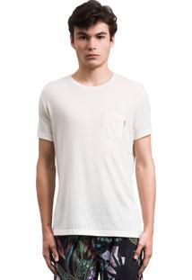 Camiseta Pocket Rus Areia Bege