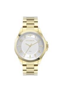 Relógio Luxo Technos Analógico Dourado Feminino
