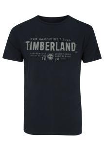 Camiseta Timberland Nh Soul - Masculina - Azul Escuro