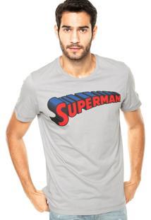 Camiseta Fashion Comics Superman Cinza