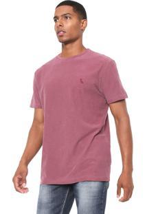 Camiseta Reserva Flame Estonada Vinho