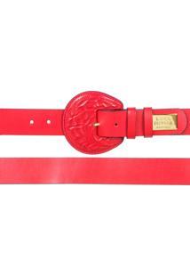 Cinto Lança Perfume Accessories Vermelho