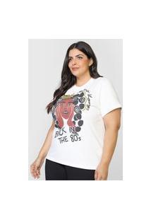 Camiseta Colcci 80'S Branca