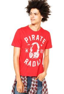 Camiseta Cavalera Artes Vermelha