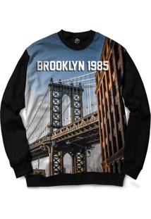 Blusa Bsc Brooklyn Bridge Full Print - Masculino