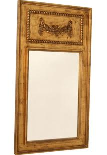 Espelho Decorativo Clássico Amboise De Parede Com Moldura De...