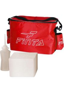 Bolsa Térmica Massagem/Fisioterapia Finta - Unissex-Vermelho