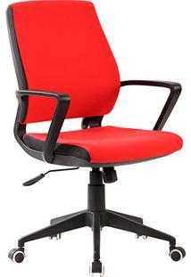 Cadeira Executiva Sacramento Giratória Vermelho - Ecadeiras