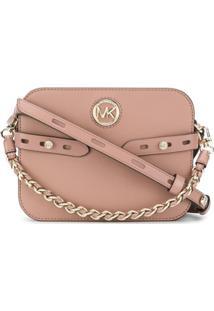 Michael Michael Kors Chain Handle Shoulder Bag - Rosa