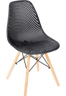 Cadeira De Cozinha Vazada Dkr-Or Design - Preto