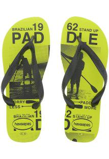 136d9a78f ... Chinelo Havaianas Top Athletic - Masculino - Amarelo/Preto