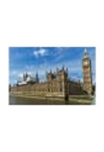 Painel Adesivo De Parede - Big Ben - Londres - 810Png