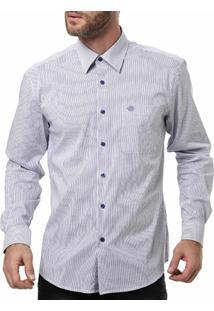 Camisa Manga Longa Masculina Optimist Branco - Masculino