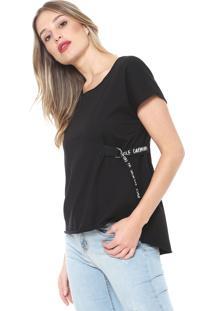 Camiseta Carmim Darling Preta