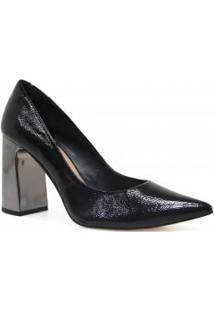 Sapato Cecconello Scarpin Verniz Salto