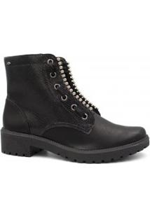 Bota Ankle Boot Dakota Em Couro