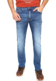 Calça Jeans Colcci Slim Azul