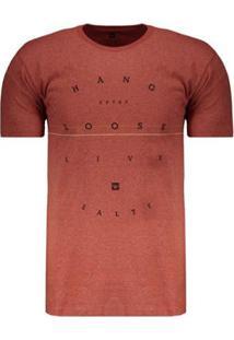 Camiseta Hang Loose Silk Typostripe Masculina - Masculino