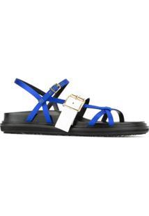 Marni Sandália 'Fussbet' - Azul