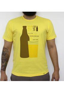 Creveja - Camiseta Clássica Masculina