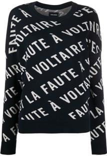 Zadig&Voltaire Suéter Anouk - Azul