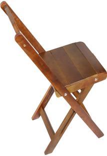 Cadeira Decker Bar Dobrável, Imbuia
