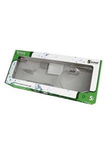 Kit De Acessórios Para Banheiro Renove 5 Peças 22461 Cromado Sicmol
