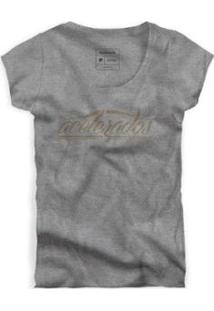Camiseta Reserva Acelerados Masculina - Masculino-Cinza