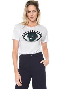 Camiseta Lez A Lez Eye Branca