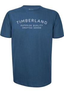 Camiseta Timberland Kennebec Elevated Brand Carri Masculina - Masculino