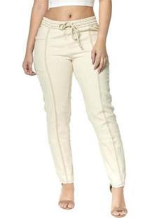 Calça Jeans Cigarrete Denuncia Skinny Lille 206324157 Azul 40 - Feminino