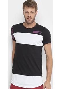 Camiseta Fatal Estampada Alongada Masculina - Masculino