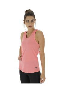 6c0d98788 ... Camiseta Regata Under Armour Triblend - Feminina - Rosa Claro